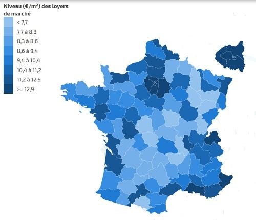 Стоимость аренды недвижимости во Франции остается стабильной