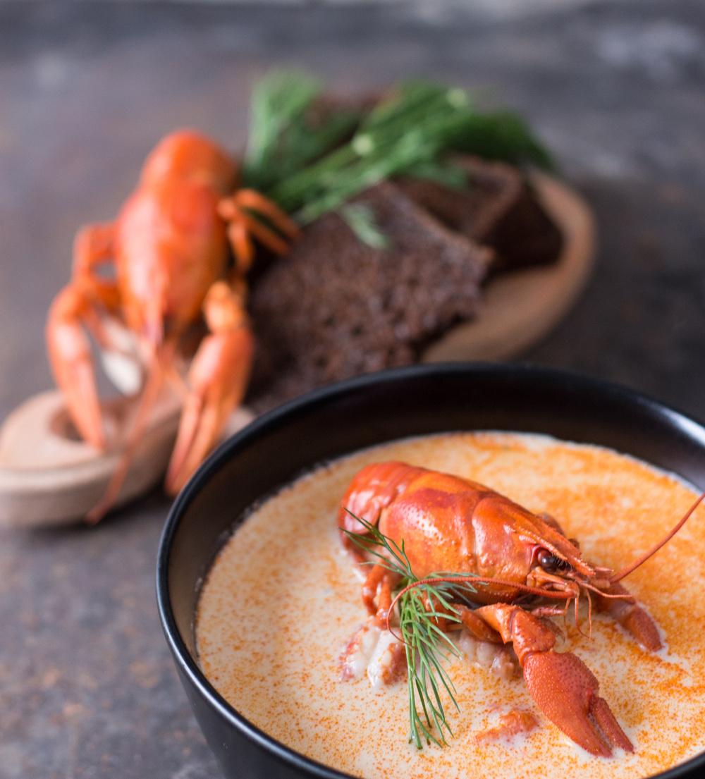 Раковый суп - старинный рецепт для гурманов