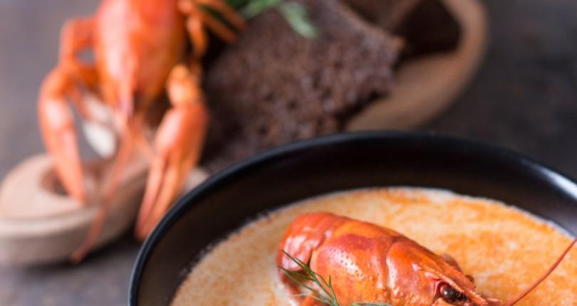 Раковый суп — старинный рецепт для гурманов